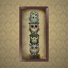 Cute Owl 5D Diamond Painting DIY Embroidery Cross Stitch Home Decor Needlework