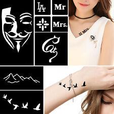 Tattoo Henna Stencils Ebay