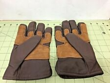 Wrangler vintage Goatskin Leather Gloves size Large, FREE shipping!