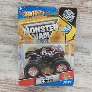 Hot Wheels Monster Jam 1/64 2011 Nitro Circus Tattoo Series 28/80 NEW MOC