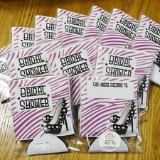 CLEARANCE!  Set of 12 Bridal Shower Favors Girls Night Out Bachelorette koozies
