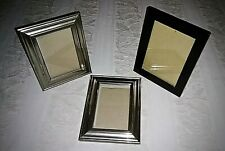 """Pair and a Spare of Tabletop or Hanging Photo Frames 5 x 7"""" & 4"""" x 6"""""""