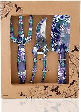 Flora Guard 3 Piece Aluminum Garden Tool Set - Trowel, Cultivator, Pruning