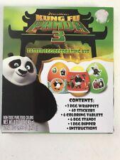 Kung Fu Panda 3 Easter Egg  Decorating Kit Stickers Dye Coloring NEW
