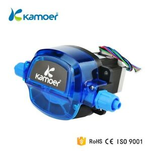 Laboratory Kamoer Peristaltic Pump with Stepper Motor 12v 1800ml/min Tubing 35#