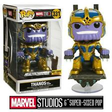 Marvel Studios 10th Anniversary Thanos on Throne Pop Deluxe Vinyl Figure