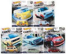 Hot Wheels 1/64 Car Culture Cargo Carriers 5 Diecast Cars Set Car FPY86-956B