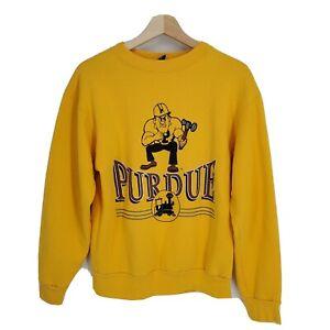 Vintage 90s Jansport Purdue University Boilermakers Crewneck Sweatshirt Medium