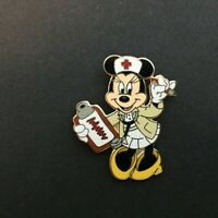 WDW - Nurse Minnie Mouse with Clipboard Disney Pin 5017