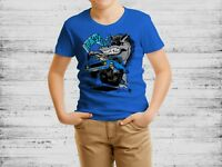 Ford Mustang Horsepower Funny Boys, Kids Quality T-shirt  Short Sleeve Top