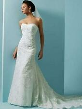 Authentic Alfred Angelo Style #1807 Wedding Gown, Size: 16, Color: White
