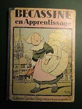 Bécassine en Apprentissage - ill Pinchon - EO Gautier-Languereau (1930) - Rare
