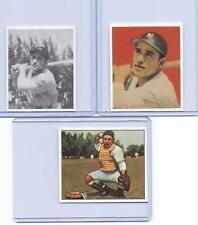 (25) YOGI BERRA 1948/1949/1950 ROOKIE CARD REPRINTS MIXED LOT! NEW YORK YANKEES!