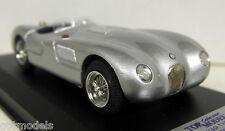 Top Model 1/43 Scale TMC045 Jaguar C Type 53 Nino Farina silver Resin model car