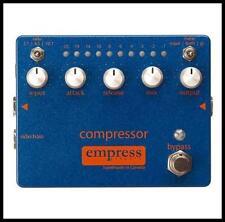 Empress Compressor Guitar / Bass Effects Pedal Studio Compressor