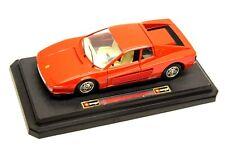 Burago Ferrari Testarossa Escala 1984 1/24 Modelo de Coche Coleccionable En Caja