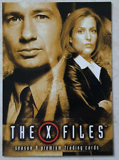 X-Files Season 9 Promo Card P1 Mulder Scully Premium Trading Card Inkworks 2003