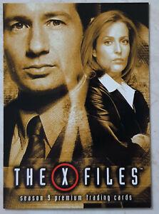 X-Files Season 9 Promo Card P1 Mulder Scully Premium Trading Card Inkworks 2003