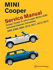 BMW NEW MINI COOPER S CLUBMAN CONVERTIBLE Owners Repair Service Manual Handbook
