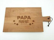 Planche à découper en bois - Papa Parfait - 36,5 x 20,5 cm - Livraison de FRANCE