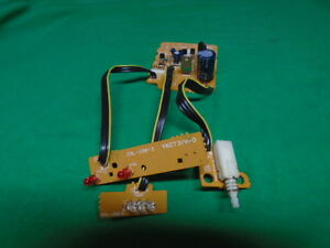 JVC AL-FQ5 TURNTABLE P.C BOARDS AND POWER SWITCH