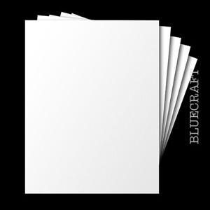 A5 Blank White Card - Premium 225gsm - 210 x 148mm - All Quantity Packs