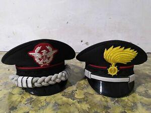 Set of two Italian Police Carabinieri Hat Italy