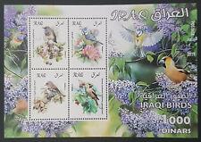 Iraq NEW 2019 Block S/S Souvenir Sheet MNH Iraqi Birds 1000 issued !!!