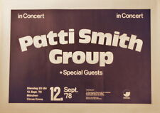 PATTI SMITH GROUP CONCERT TOUR POSTER 1978 EASTER