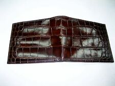 Genuine alligator wallet, men's wallet, money & card holder by SHANT PETER U.S.A