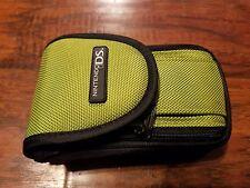 Green / Black Zipper Case, fits Nintendo 3DS, Standard New 3DS, DS Lite