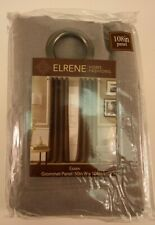 "Elrene  Essex  108""  Grommet Panel , 50"" W x 108"" L Wheat New with Tag TFI"