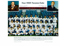 1969 TACOMA CUBS AAA PCL CHICAGO  8X10 TEAM  PHOTO GURA CHICAGO  BASEBALL