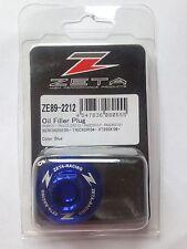 Suzuki Rmz 450 RM450Z 2005-2018 Zeta Motor Tapón de Llenado de Aceite Azul