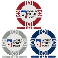 300 x WPT World Poker Tour 11.5g Poker Chips - Brand New Sealed in Rolls