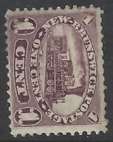 New Brunswick #6 MHR CV$37.50