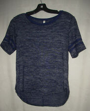 NWT ATTICUTE ~ STRETCH TOP Misses M NEW STYLE: STRIPE ON SLEEVE LOW $ Sz 12