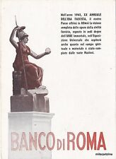 1941  - XX ANNUALE ERA FASCISTA - BANCO DI ROMA PER ESPOSIZIONE EUR