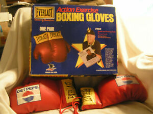 EVERLAST BOXING GLOVES WITH BOX