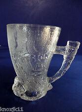 1993 FLINSTONES Glass MAMMOTH HORN MUG Coffee Cup McDonalds RocDonalds France!