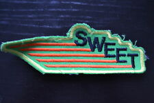 SWEET ricamate patch 15x5cm