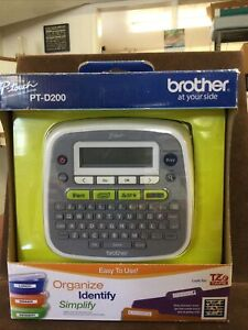 Brother P-Touch PT-D200 Label Thermal Printer NEW