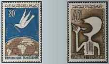 Timbres Tunisie 573/4 * lot 9865
