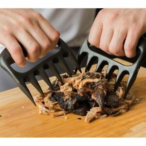 Bear Paws Claws meat Forks Handler Tongs Pull Shred Lift Toss Pork BBQ HOT