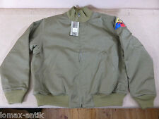 "Us42 ""Fury"" US Vintage petroliere JACKET Campo Giacca Inverno Combat jeep carri armati Giacca"