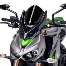 Verkleidungsscheibe Puig Tour Kawasaki Z 1000 14-16 schwarz Windschild