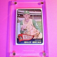 1965 Topps Baseball #51 Billy Bryan Athletics High Grade NmMt NM-MT Sharp!