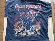 Iron Maiden T-shirt Maiden England North American Tour 2012 - 3XL has been worn