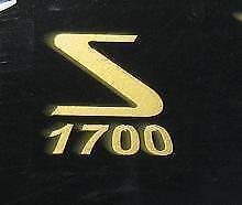 AUTOCOLLANT  CAPOT FILTRE AIR SOLEX  1700  (doré)  VELOSOLEX
