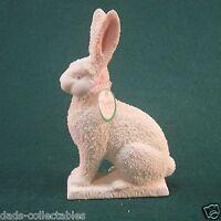 Snowbabies Dept 56 Easter Rabbit 1992 Bisque Porcelain New in Box
